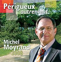 Page d'une objectivité stupéfiante en faveur de Michel Moyrand. dans Propos de campagne couverture